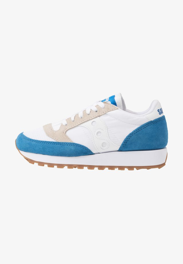 JAZZ VINTAGE - Matalavartiset tennarit - white/blue