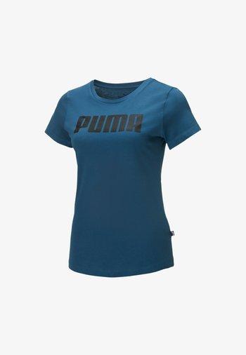 ESSENTIALS  - T-shirt imprimé - digi-blue