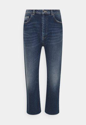 Jeansy Straight Leg - degradable blue