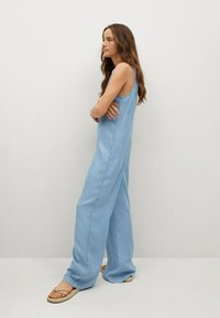 Mango - Overall / Jumpsuit - medium blue - 1