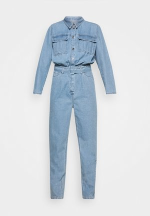 ANGIE TRACKSUIT WASH BRIGHT SOHO - Combinaison - denim blue
