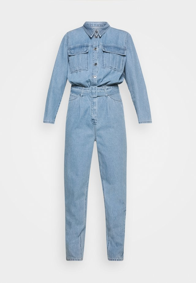 ANGIE TRACKSUIT WASH BRIGHT SOHO - Mono - denim blue