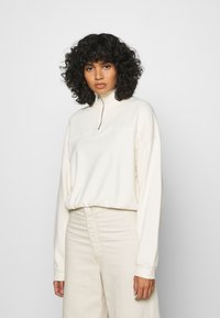 Levi's® - POM QUARTER ZIP - Sweatshirt - off white - 0