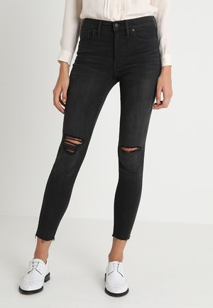 HIGH-RISE - Jeans Skinny Fit - black sea