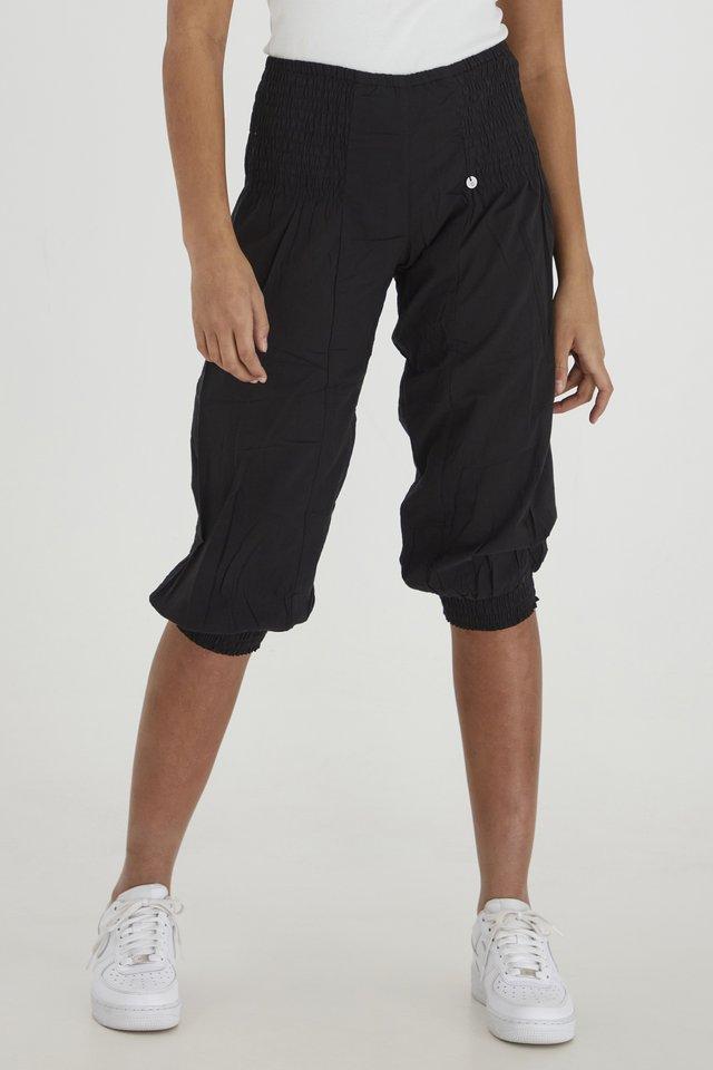 JILL WIDE - Shorts - black