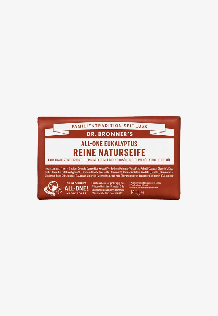 Dr. Bronner´s - PURE NATURAL SOAP 140G - Soap bar - eukalyptus