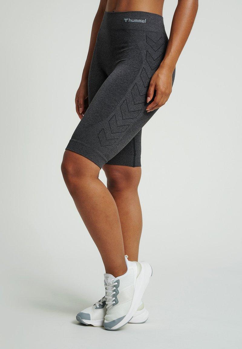 Hummel - Legging - black melange