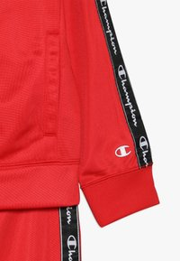 Champion - BACK TO SCHOOL TRACKSUITS FULL ZIP  - Tracksuit - red - 4