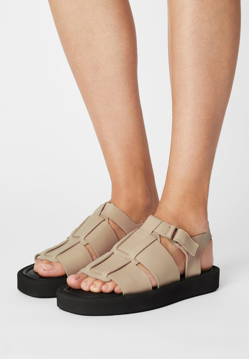 By Malene Birger - KLEVA - Platform sandals - wood