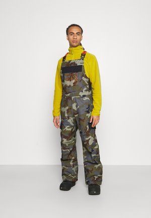 DOCILE BIB - Pantaloni da neve - woodland/castlerock