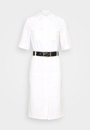 LORI BELTED DRESS - Robe chemise - cream