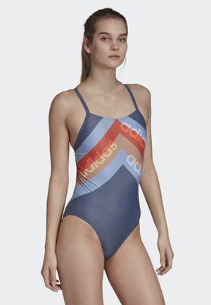 ATHLY LIGHT GRAPHIC SWIMSUIT - Badedrakt - blue