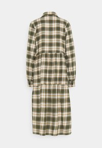 Noisy May - NMERIK LOOSE LONG DRESS - Shirt dress - fir green - 1