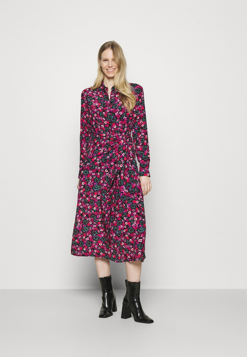 Guess - SELVAGGIA DRESS - Košilové šaty - multi-coloured