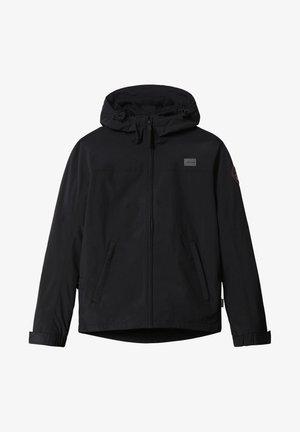 SHELTER HOOD - Light jacket - black