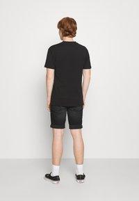 Denim Project - MR ORANGE - Jeans Short / cowboy shorts - black washed - 2