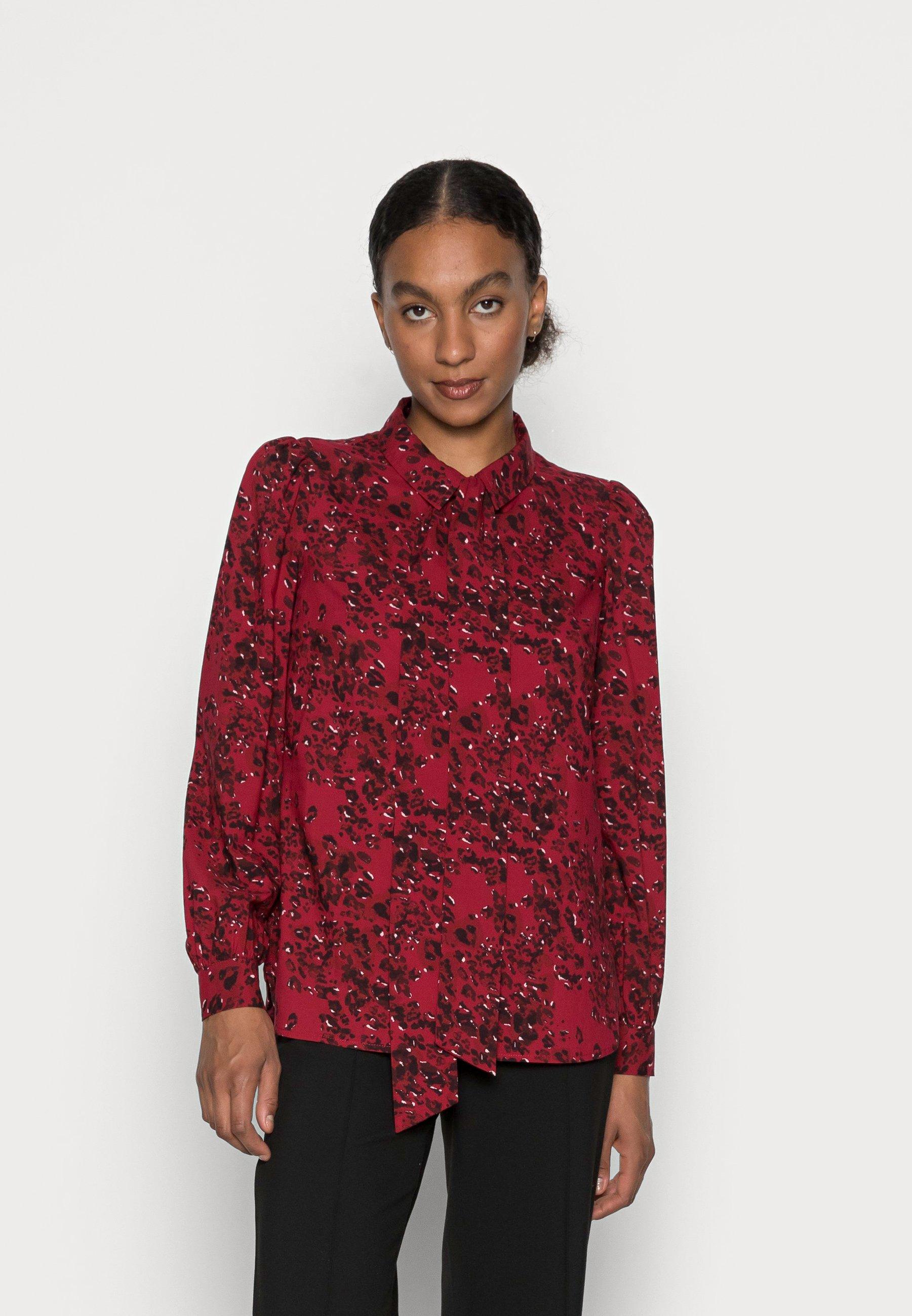 Women JANELLE DETATCHABLE BOW BLOUSE - Button-down blouse