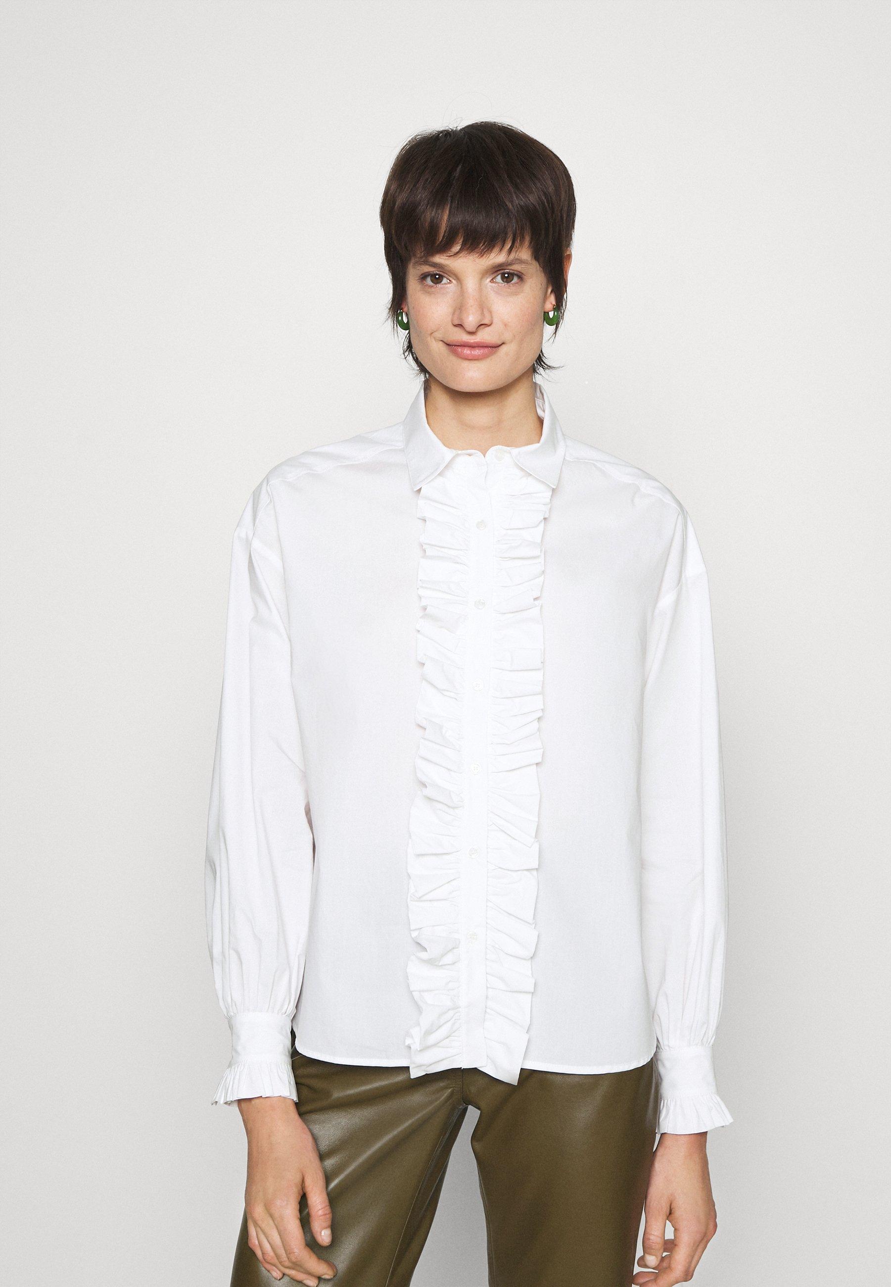 Women TUCUMAN CAMICIA POPELINE - Button-down blouse