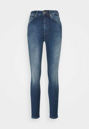 ONLBECKS LIFE SKIN  - Jeans Skinny Fit - medium blue denim