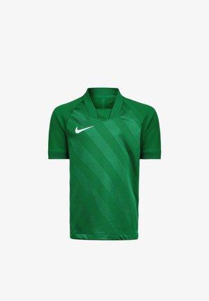 Sports shirt - pine green / white