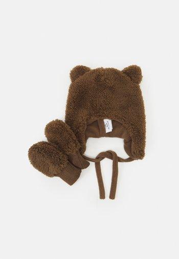 NBNMATUTA TEDDY SET UNISEX - Muts - chocolate chip