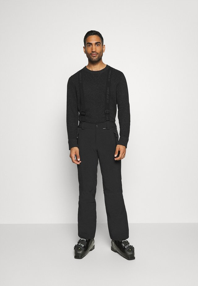 FREIBERG - Pantalon de ski - black