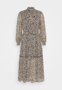 SLEEVE MID SMOCK DRESS - Shirt dress - tan