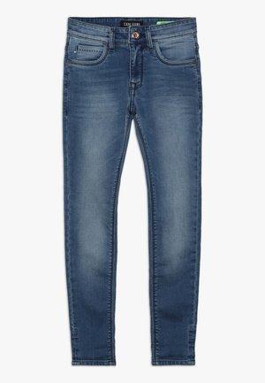 BURGO - Slim fit jeans - blue denim