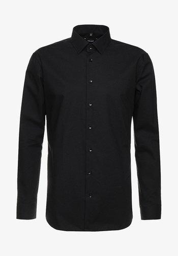 SLIM FIT - Kostymskjorta - schwarz