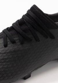adidas Performance - X GHOSTED.3 FOOTBALL BOOTS FIRM GROUND - Fotballsko - core black/grey six - 5