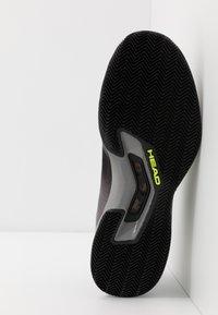 Head - SPRINT CLAY - Tenisové boty na antuku - black - 4