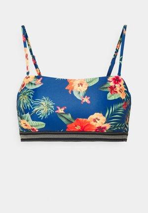 DHRITI WOMENS - Bikini top - deep blue