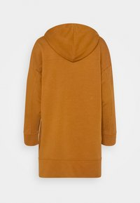 ONLY - ONLJENA LIFE LONG HOODIE - Huppari - glazed ginger - 7
