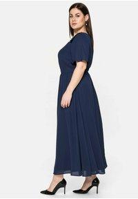 Sheego - Maxi dress - marine - 3