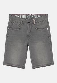 Retour Jeans - LOEK - Jeansshort - light grey denim - 2