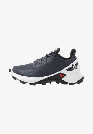 ALPHACROSS BLAST - Hiking shoes - india ink/white/black