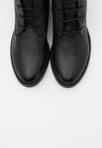 lilimill - Šněrovací kotníkové boty - twister nero - 5
