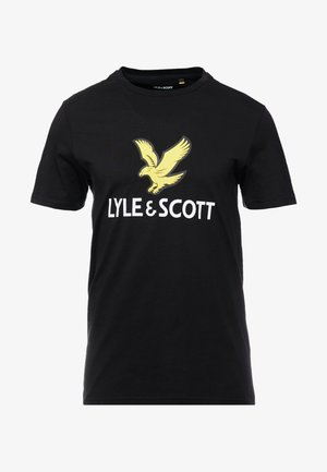 LOGO - T-shirt imprimé - jet black