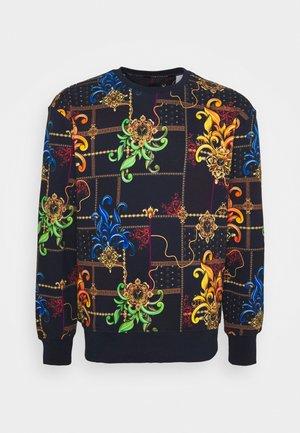 ALLOVER PRINT BIG - Sweatshirt - navy