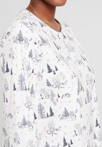 Etam - WEENDEL LIQUETTE - Noční košile - ecru - 5