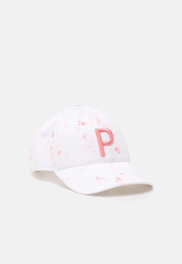 FLORAL ADJUSTABLE - Cap - bright white/georgia peach
