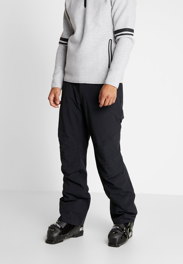 REBELS PANTS - Pantaloni da neve - black