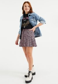 WE Fashion - SKORT - Mini skirt - multi-coloured - 1