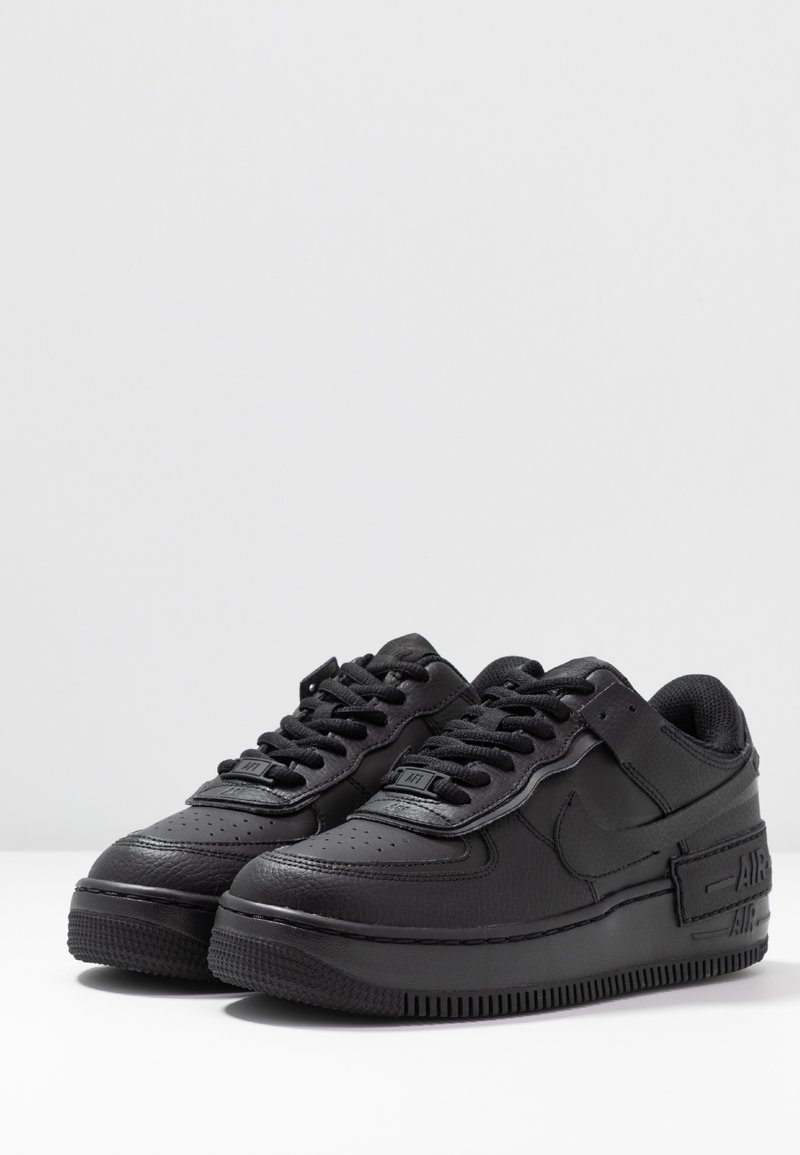 Nike Sportswear Air Force 1 Shadow Trainers Black Zalando Ie Lastly, the white and black trainers include matching detailing, sleek sole units and matching lacing. air force 1 shadow trainers black