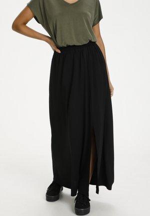 Maxi skirt - black deep