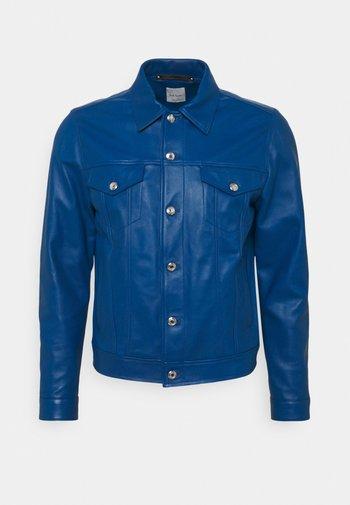 STYLE JACKET - Leather jacket - royal blue