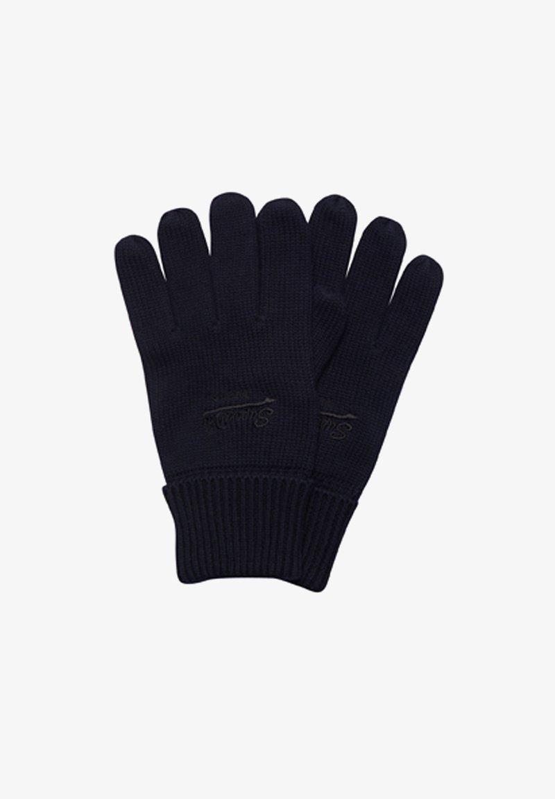 Superdry - VINTAGE LOGO CLASSIC - Gloves - eclipse navy/black grit