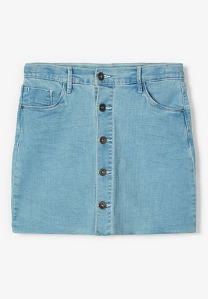 Denim skirt - light blue denim
