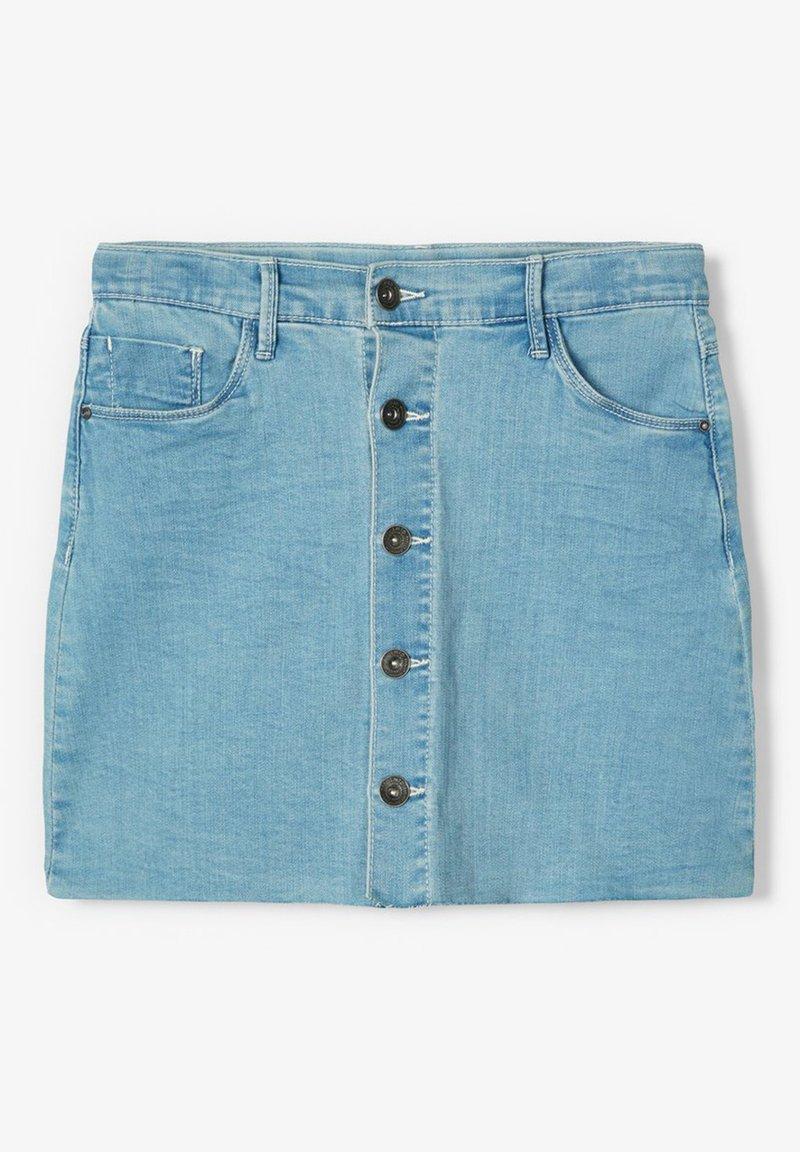 LMTD - Denim skirt - light blue denim