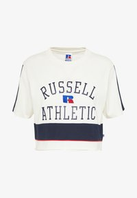Russell Athletic Eagle R - LAUREN - T-shirt con stampa - soya - 4